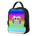 Owl (Rainbow) Neoprene Lunch Bag