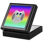 Owl (Rainbow) Keepsake Box
