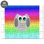 Owl (Rainbow) Puzzle