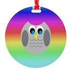 Owl (Rainbow) Ornament