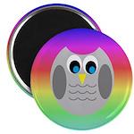 Owl (Rainbow) Magnets
