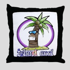 Island Cool... Throw Pillow