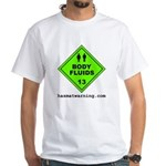 Body Fluids White T-Shirt