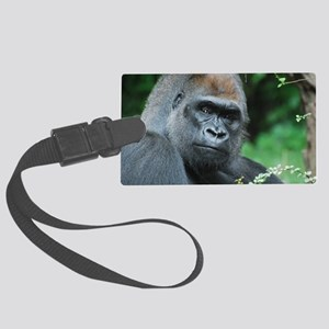 Gorilla Gaze Large Luggage Tag