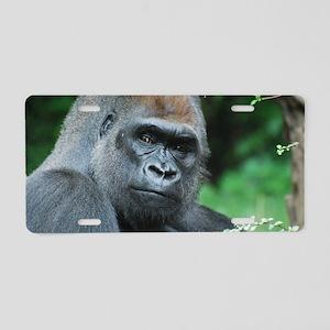 Gorilla Gaze Aluminum License Plate