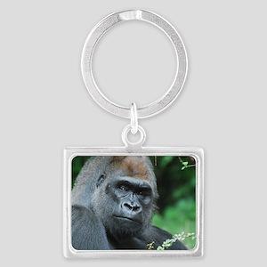 Gorilla Gaze Landscape Keychain