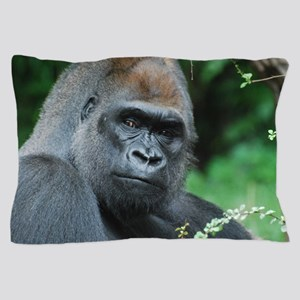 Gorilla Gaze Pillow Case