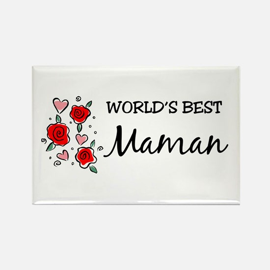 WB Mom [Persian] Rectangle Magnet