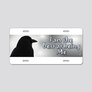 Best at Being m\Me Aluminum License Plate