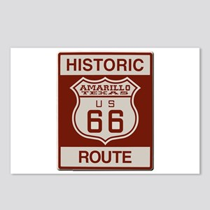 Amarillo Route 66 Postcards (Package of 8)