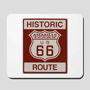 Amarillo Route 66 Mousepad