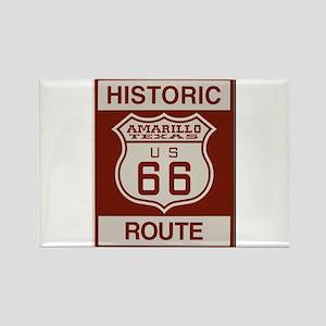 Amarillo Route 66 Magnets