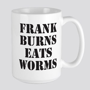 Frank Burns Eats Worms Mugs