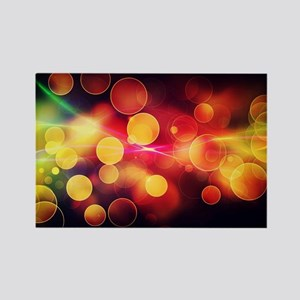 Colorful Art Rectangle Magnet