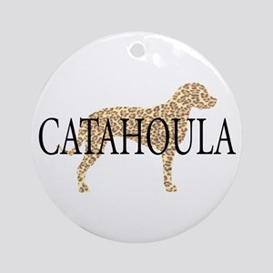 Catahoula Leopard Dogs Ornament (Round)