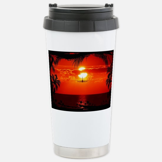 Wonderful Sunset Stainless Steel Travel Mug