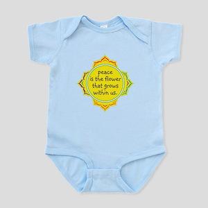 Peace is the Flower Infant Bodysuit