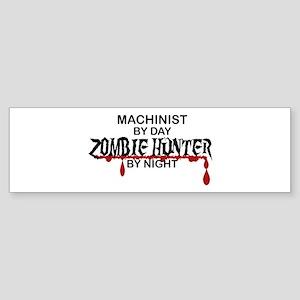 Zombie Hunter - Machinist Sticker (Bumper)