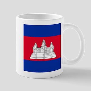 Flag of Cambodia Mugs