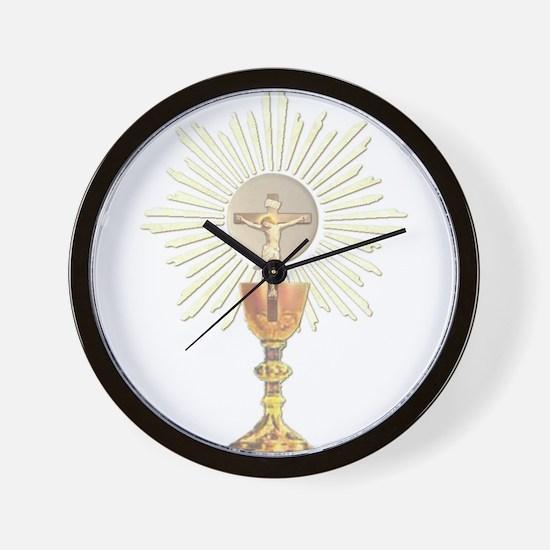 Cute Catholic Wall Clock