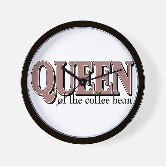 Queen of the Bean Wall Clock