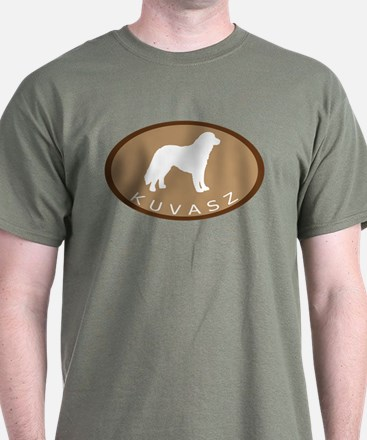 Kuvasz (brown oval) T-Shirt