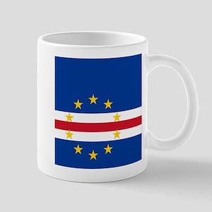 Flag of Cape Verde island country Mugs