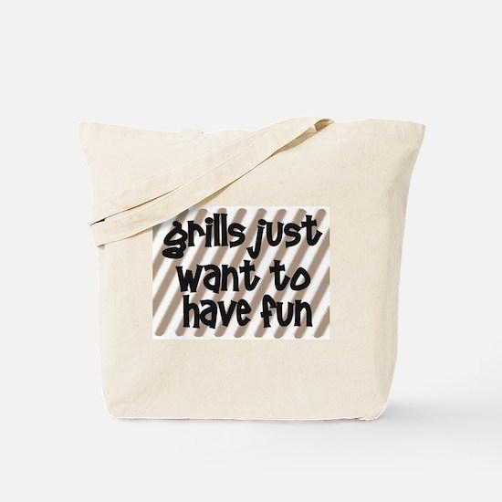 Fun Grills Tote Bag