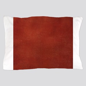 Red suede texture Pillow Case