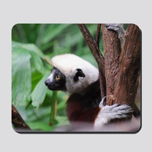 Profile of a Safika Lemur Mousepad