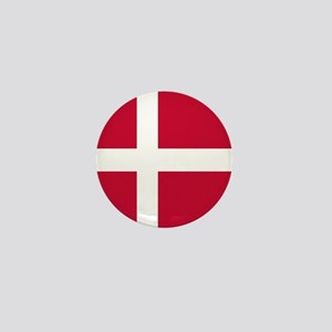 Flag of Denmark Mini Button