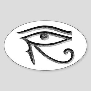 Wadjet - Eye of Horus/Ra Oval Sticker