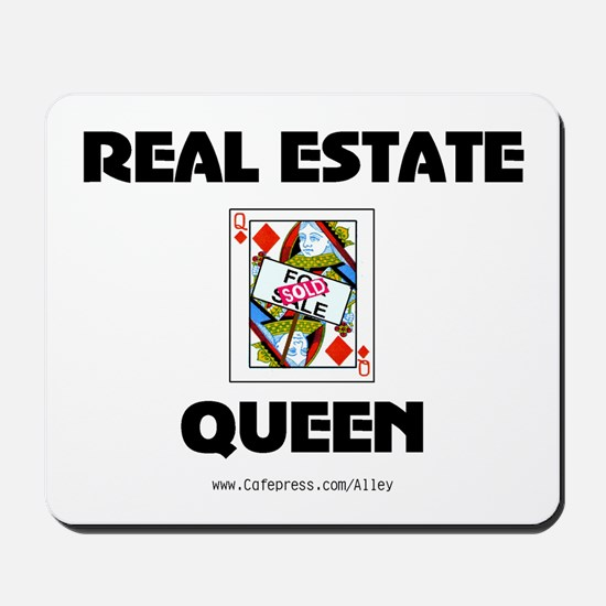 Real Estate Queen Mousepad