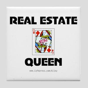 Real Estate Queen Tile Coaster