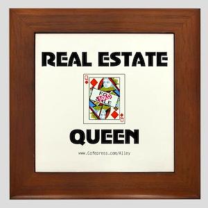 Real Estate Queen Framed Tile