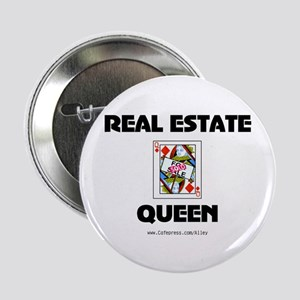 "Real Estate Queen 2.25"" Button"