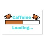 Caffeine Loading (Mugs) Sticker