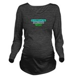 Scare Teenage Daughter! Long Sleeve Maternity T-Sh