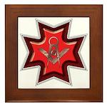The Maltese Mason Framed Tile