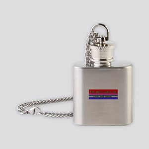 You dont scare me- Ive got kids! Flask Necklace