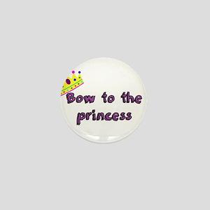 Bow to the princess Mini Button