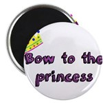 Bow to the princess Magnets