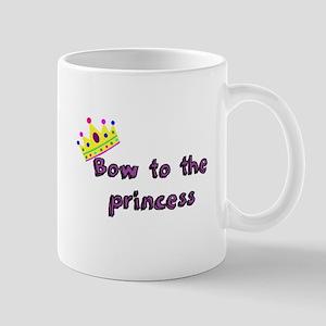 Bow to the princess Mugs