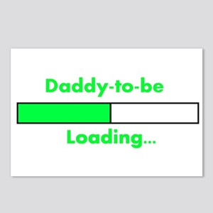 Daddy-to-be Loading... Postcards (Package of 8)
