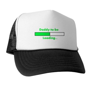 e02493637946a New Dad Trucker Hats - CafePress