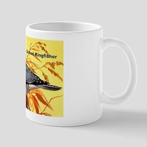 Belted Kingfisher Bird Mug