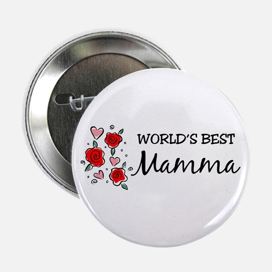 WB Mom [Italian] Button