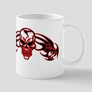 Skull Art ~ Red Phoenix Skull Mugs