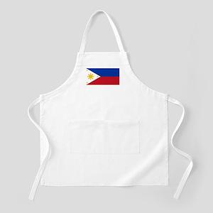 Philippines Flag BBQ Apron