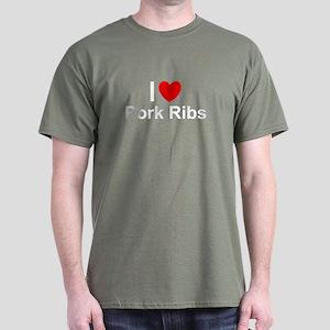 Pork Ribs Dark T-Shirt